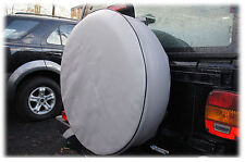 GREY 4x4 SPARE WHEEL TYRE COVER 25 1/2 Inches