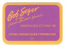 Bob Seger & the Silver Bullet Band - American Storm ´86 - Konzert-Satin-Pass