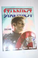 STARBURST MAGAZINE CAPTAIN AMERICA CIVIL WAR X-FILES DR WHO GAME OF THRONES