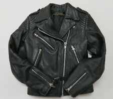 Vintage Hein Gericke Harley Davidson Original Leather Motorcycle Jacket Sz 36