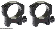 Tactical 30mm Rifle Scope Low Weaver Mount Rings Fit Night Force Leupold Scope