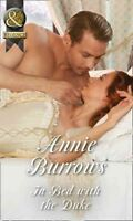 In Bed With The Duke (Historical), Burrows, Annie, Very Good Book
