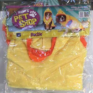 Rubies Pet Shop Dog Cat DUCKIE Costume Beagle Corgi New In Package