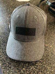 NEW TITLEIST MENS GOLF HAT GRAY Small/Medium