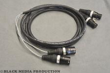prof. 2 Kanal XLR AES/EBU Multicore-Kabel 10m HiCon 110 Ohm - DMX geeignet *NEU*