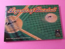 POSTAL CARDS * UX-356a * Legends of Baseball * MNH * 2000 * 20 Cards