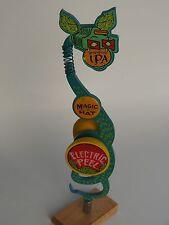 Metal BEER Tap Handle ~ MAGIC HAT Brewing Electric Peel Grapefruit IPA ~ VERMONT