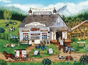 """Masterpieces Homegrown """"BEST OF THE NORTHWEST"""" 750 Piece Puzzle - Farmers Market"""