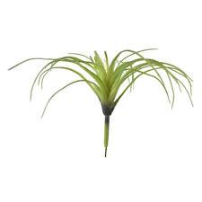 Long Grass Bush Stem, Green, 8-Inch