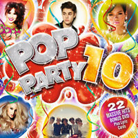 Various Artists : Pop Party 10 CD Album with DVD 2 discs (2012) Amazing Value