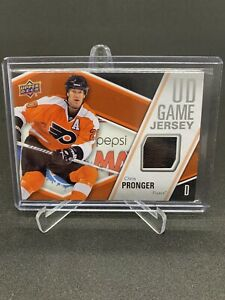2011-12 UPPER DECK SERIES ONE UD GAME JERSEY CHRIS PRONGER #GJ-PR FLYERS