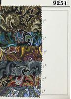 "XQ9251 150cm 59"" Wide Paisley Print 100% Cotton Poplin Fabric per Metre"