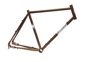 "New Albion Drake Touring Road Bike Frame 60cm Large 650B 27.5"" Disc Tange Steel!"