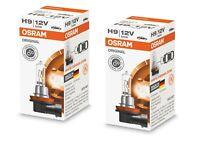 2x Osram H9 12V 65W PGJ19-5 64213