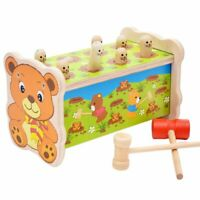 Young Lele Wooden Bear Playing Hamster Large Children Beat Educational UG