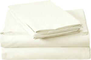 Millenium Linen Queen Size Bed Sheet Set  1 Fitted, 1 Flat, 2 Pillow Cases