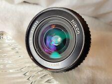 Nikon Nikkor Ai 20mm f3.5 Manual Wide  Angle Lens.
