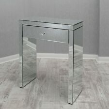 Mirrored 1 Drawer Dressing Table