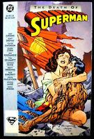 Death of Superman TPB Comic 1st Printing 1993 NM/M DC Comics LW1