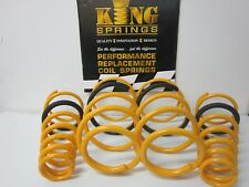 Lowered Front & Rear KING Springs to suit Commodore VE V8 Sedan Models