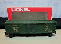 "LIONEL 6-9742 O27 Scale Standard Box Car ""Minneapolis & St. Louis"""