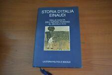 Storia D' Italia Dalla caduta dell'Impero Romano al 18 secolo  Einaudi