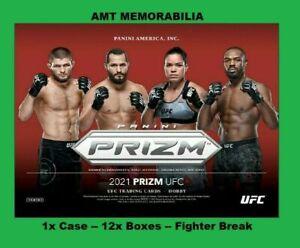 Maycee Barber 2021 Panini Prizm UFC 1X CASE 12X BOX FIGHTER BREAK #10