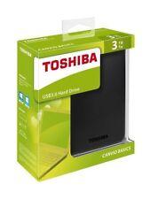 Discos duros externos negro Toshiba para ordenadores y tablets USB 3.0
