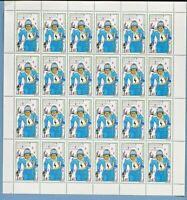 1980 REPUBLIC OF  CONGO  LAKE PLACID-13th WINTER OLYMPIC GAMES SHEET OF 2 MNH