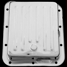 Chrome C4 Transmission Pans For Ford C 4 Transmissions Comes With Drain Plug