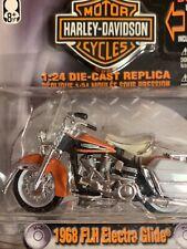 Maisto Harley Davidson 1968 FLH Electra Glide 1:24 Diecast Replica Motorcycle