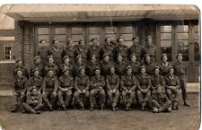 """Buffs,7th Platoon,I Coy,11th April,1945"" Photograph, (Postcard Size)"