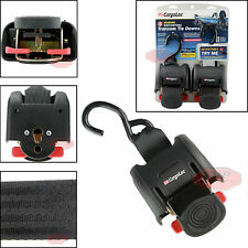 """2 Pack Marine Retractable Transom Tie Down 2500lbs Boat Trailer 2 inch Strap 43"""""""