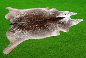 """New Cowhide Rugs Area Cow Skin Leather 22.53 sq.feet (59""""x55"""") Cow hide A-9112"""