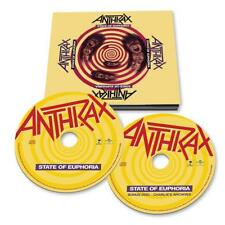 Anthrax State Of Euphoria 30th Anniversary Edition CD 2 X CD preorder slayer