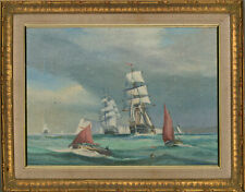 Peter Whittock - 20th Century Oil, Outward Bound for the Baltic Sea