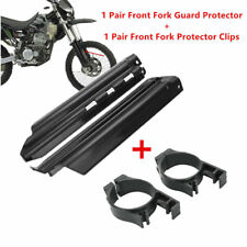 Front Fork Slider Guards Protecors Black For Kawasaki KDX250 KDX200 KLX250 650