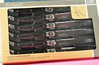 """""""LAGUIOLE""""  Sets. of 6 Steak knives Germany made NEW"""