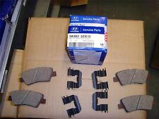 "Genuine Hyundai Rear Brake Pads i40 2011-2015 16"" Wheels 583023ZA10"