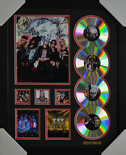 GUNS N ROSES 4CD FRAMED LIMITED EDITION MEMORABILIA #B