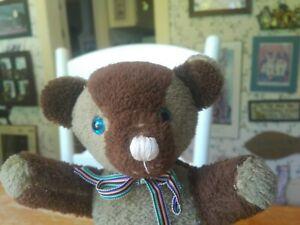 Antique Vintage 1960s/1970s Knickerbocker/Gund Teddy Bear 12in VGUC