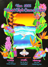 Official 2005 Women's Triple Crown Surfing Hawaii Contest New Mint Poster