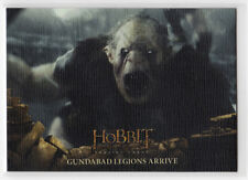 The Hobbit The Battle of the Five Armies - Base Card 67 Canvas Parallel 70/75