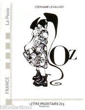timbre seul issu du bloc feuillet Collector carré d'encre OZ tirage éphémère