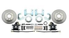 "Mopar 8 3/4"" Rear Disc Brake Conversion Kit  B-Body, Black Powder Coated Caliper"