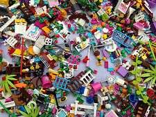 LEGO - 30 Random Friends Girl Color parts pieces lot Accessories mix tools
