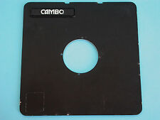 Cambo 4X5 Camera Lens Board Opening - 48,5mm.  (MH)