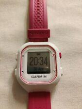 Garmin Forerunner 25 GPS Running Watch 010-01353-21, Small, White/Pink