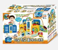 Little Bus TAYO School Role Play Set Toy - Light,Melody,Mini Car,Playground Sets