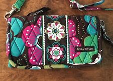 Bella Taylor Javabloom Large Wallet CrossBody Travel Accessory Small Bag Exc!